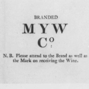 Crop of brand from bill of lading. [6]
