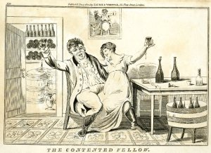 The contented fellow. 1807. British Museum. [1]