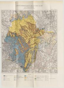 Carte Geologique de la Cote-D'Or. [1]