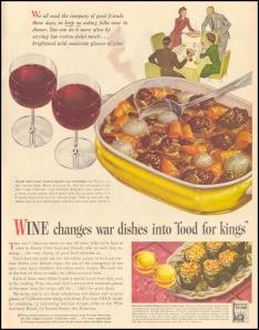 "WINE CHANGES WAR DISHES INTO ""FOOD FOR KINGS"". 11/08/1943. URL: http://gogd.tjs-labs.com/show-picture?id=1136924164&size=FULL"