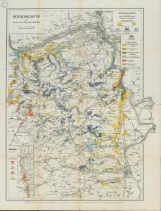 Bodenkarte der hessischen Weinbaugebiete. 1927. [1]