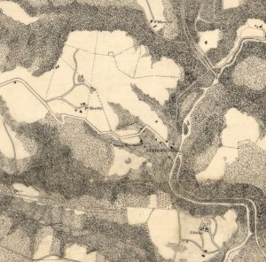 Topographical sketch of the environs of Washington, D.C.  Michler, N. 1871. URL: http://www.loc.gov/item/87693316/