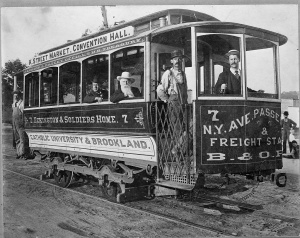 Street car, Washington, D.C. c 1890. Library of Congress Prints and Photographs Division. URL: http://www.loc.gov/pictures/item/2001706113/