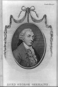 Lord George Germaine. 1780. [2]