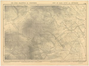 Location of Constantia farms from the map City of Cape Town and environs. 1931. The William and Yvonne Jacobson Digital Africana Program at UCT.