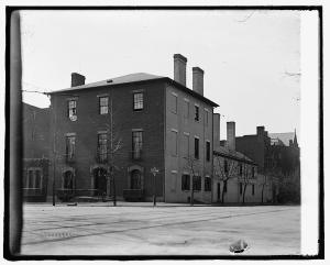 Decatur House, 17 & H, [Washington, D.C.] c. 1918-1920. Library of Congress.