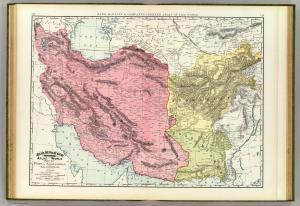 Persia, Afghanistan, Baluchistan. 1897. [3]