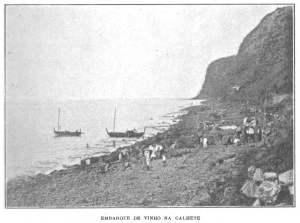 Embarque De Vinho Na Calhete. 1910. [1]
