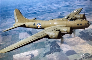 Boeing B-17E. (U.S. Air Force photo) Image from Wikipedia.