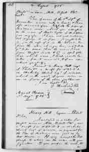 George Washington to Lamar, Hill, Bissett and Company, August 3, 1786. Library of Congress.