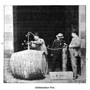 Carbonicateur Pini. 1898. [1]