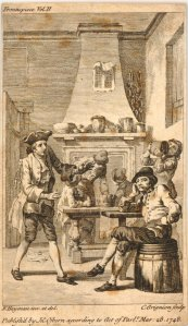A tavern scene. Charles Grignion. 1748. #1867,0309.1403. The British Museum.