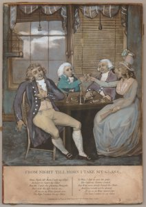 From Night till Morn I take my Glass. 1792. [1]