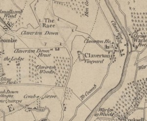 The Vineyard at Claverton Manor. Thomas Thorpe. 1787. [22]