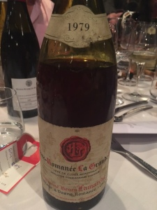 1979 Lamarche La Grande Rue Grand Cru at the Paulée at Château de Meursaul